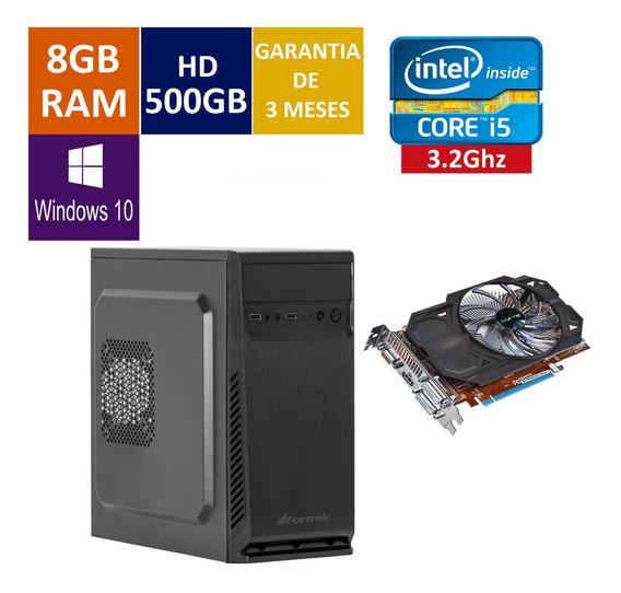 Pc Gamer Cpu Intel Core I5 + 500 Hd + 8gb Ram + Gt 630 2gb
