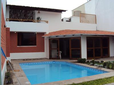 Alquilo Casa De Playa Amoblada De Estreno Frente Al Mar.