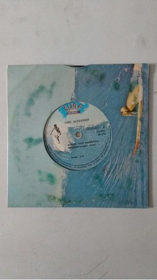 Compacto Vinil Carl Alexander Surf Records Frete Grátis