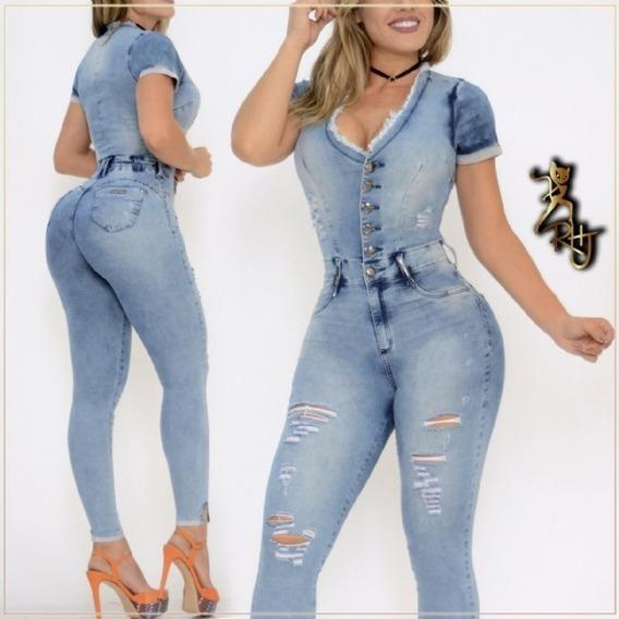 Macacão Rhero Jeans Original Lançamento 2020 Ref 56033