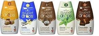 Sweetleaf Sweet Drops Liquid Stevia Variety 5 Pack 1.7 Fl.