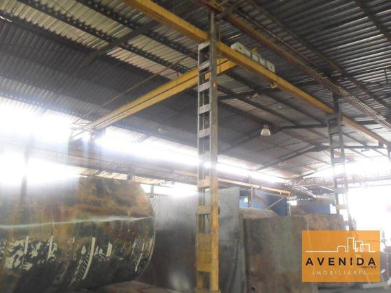Barracão Industrial À Venda, Santa Terezinha, Paulínia. - Ba0036