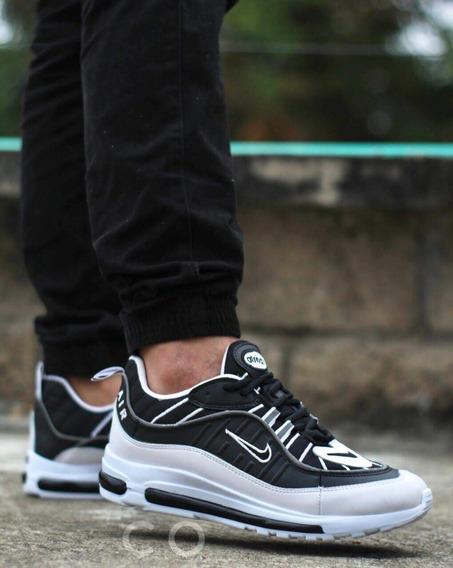 Airmax 98 Zapatos Nike de Hombre Negro en Mercado Libre