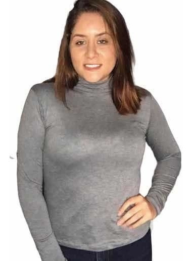 Blusa Feminina Manga Longa Segunda Pele Cacharrel