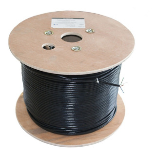 Cable Red Utp Cat. 6 Para Exterior Miokee, Carrete 305 Mts.