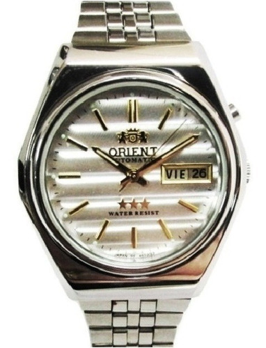 Relógio Orient Automático Aço Masculino Fem0401wr9 Promoção