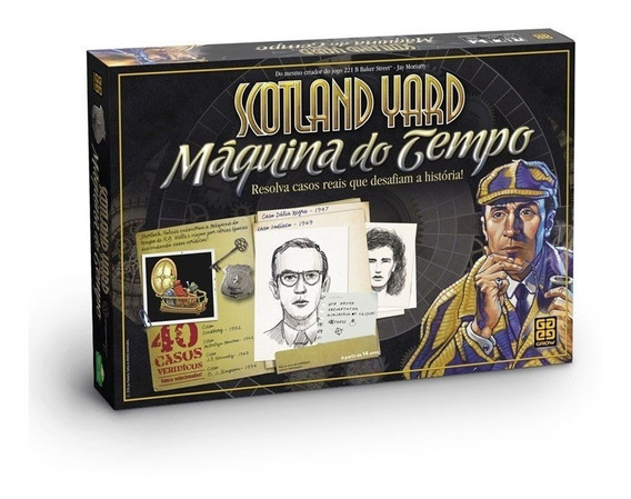 Jogo Scotland Yard Maquina Do Tempo - Grow