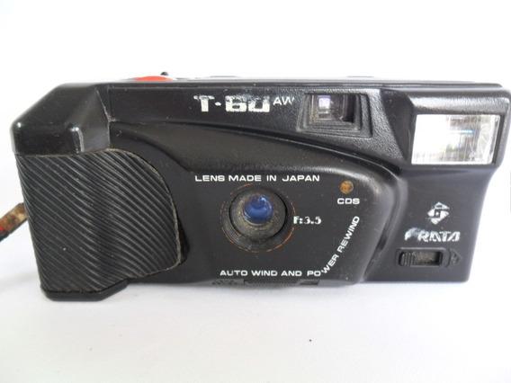 Câmera Máquina Fotográfica Antiga Frata T 60 Aw Coleção