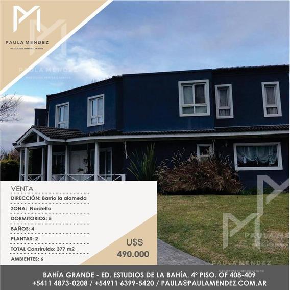 Casa - Venta - 6 Ambientes - La Alameda - Nordelta - Tigre - Zona Norte -
