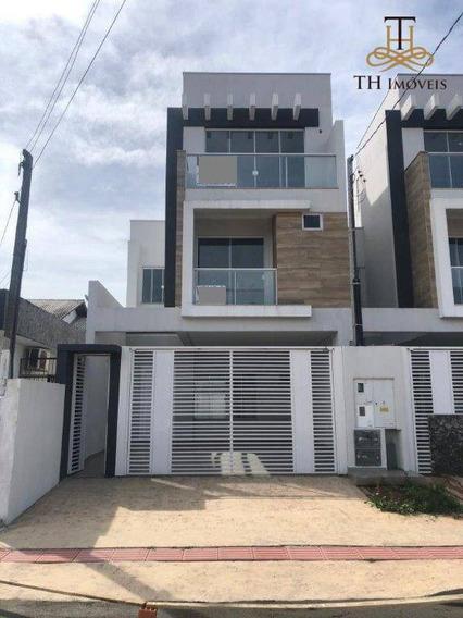 Sobrado Com 3 Suítes À Venda, 173 M² Por R$ 950.000 Centro - Balneário Camboriú/sc - So0040