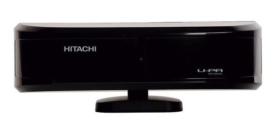Antena Digital Hitachi U-pa Preta Alto Ganho Entrega Rápida