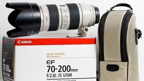 Lente Canon Ef 70-200mm F/2.8l Is Ii Usm + Case E Filtro