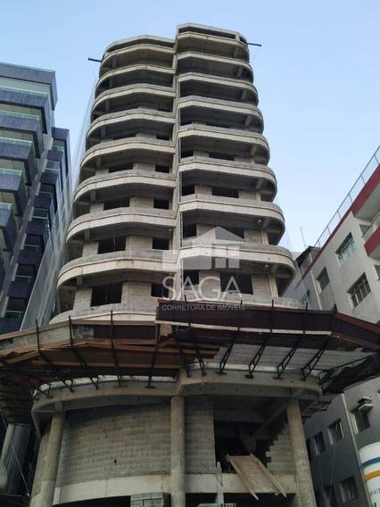 Oportunidade! Apartamento Com 1 Dormitório À Venda, 50 M² Por R$ 170.000 - Vila Caiçara - Praia Grande/sp - Ap2960