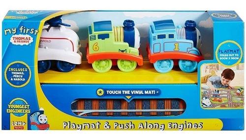 Imagem 1 de 2 de Thf Playmat & Push Along Engines