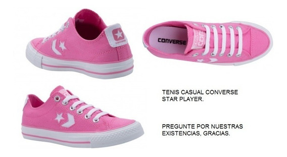 Tenis Casual Converse Star Player Dama