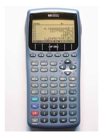 Calculadora Grafica Hp 49g