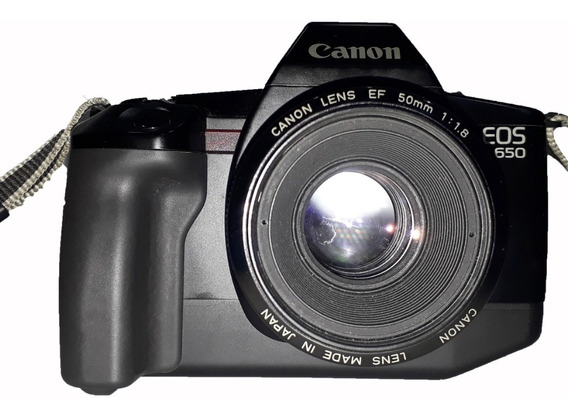 Máquina Fotográfica Analógica Canon Eos 650