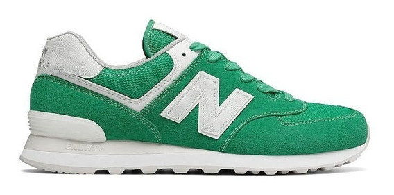 New Balance Zapatilla Lifestyle Hombre 574seh Verde Fkr