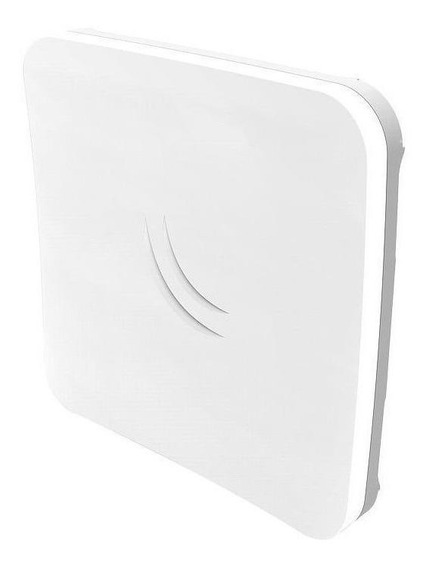 Access point outdoor MikroTik RouterBOARD SXTsq 5 RBSXTsq5HPnD branco/cinza