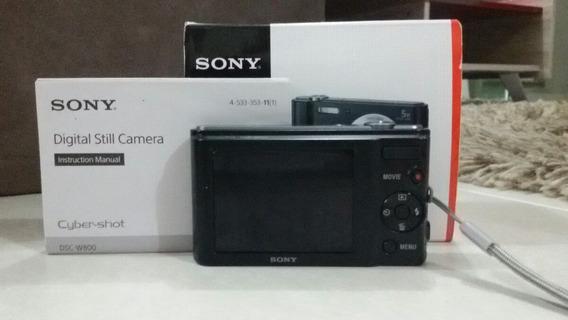 Camera Sony Impecável Na Caixa Com Nota Fiscal E Assessório