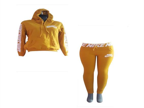 Conjunto Deportivo Pants Y Sudadera Estampado Nike