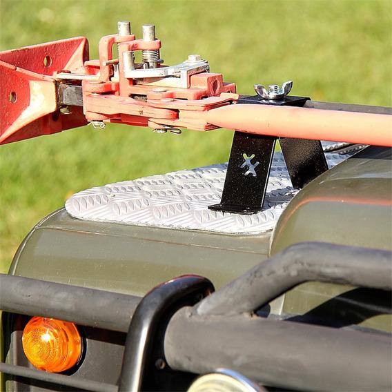 Suporte Para Macaco Hi-lift - Aço Pintado - Trava Borboleta