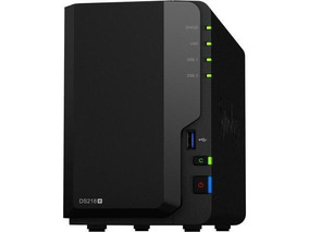 Servidor Nas Synology Ds218+ 2 Bay 16.0tb 2x Wd Red 8.0tb