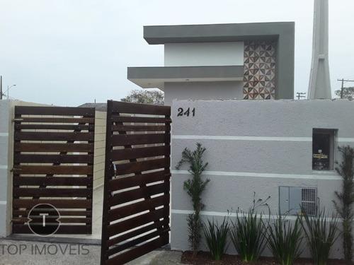 Imagem 1 de 19 de Linda Casa No Bairro Jardim Oasis, Pronta Para Morar Só 155mil, Venha E Aproveite Está Bela Oportunidade De Ter Seu Imóvel Novo Na Praia. - Ca00661 - 69909251