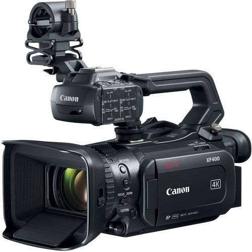 Canon Xf400 4k Uhd 60p Camcorder Com Dual Pixel Af