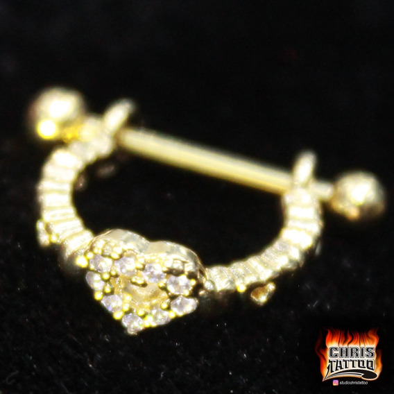 Conch Dourado Coração Cdc