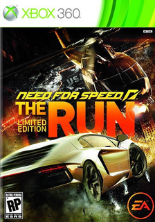 Need For Speed The Run Xbox 360 Nuevo Sellado