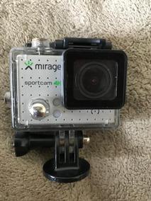 Câmera De Açao Mirage Sport 4k + Cartão Sd 16 Gb