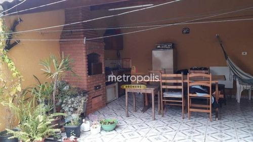 Imagem 1 de 12 de Sobrado Com 2 Dormitórios À Venda, 97 M² Por R$ 600.000,00 - Centro - Diadema/sp - So1532