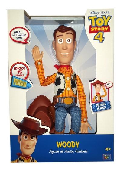 Figura Woody Toy Story Frases Español Original / Diverti