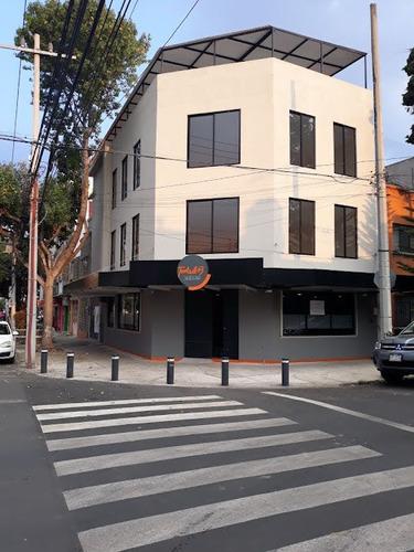 Imagen 1 de 11 de Edificio Comercial Y Oficinas En Venta Narvarte Poniente