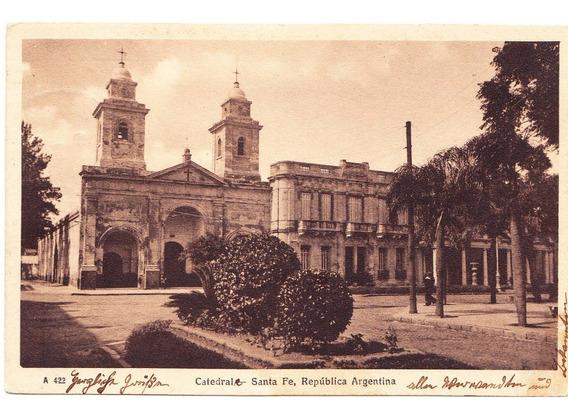 Postal Antigua Santa Fe Argentina