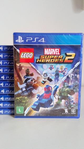 Lego Marvel Super Heroes 2 Ps4 Mídia Física Novo Lacrado