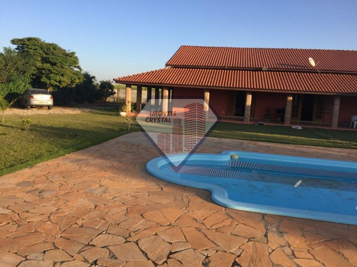 Chácara Para Venda Em Laranjal Paulista, Água Branca, 6 Dormitórios, 5 Suítes, 6 Banheiros, 9 Vagas - Ag0075_1-1557819