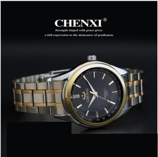 Relógio Feminino Chenxi Dourado Prova D Água Ouro Prata