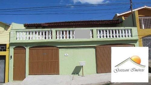 Imagem 1 de 15 de Sobrado Para Venda Em Bragança Paulista, Vila Municipal, 3 Dormitórios, 1 Suíte, 1 Banheiro, 3 Vagas - G0184_2-193181