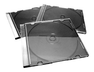 Cajas Acrilicas Caja Para Cd Doble Oferta X 10 Unidades