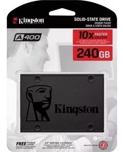 Hd Ssd Kingston 240gb A400 Sata 3 Rev 3.0 (6gb/s) Original