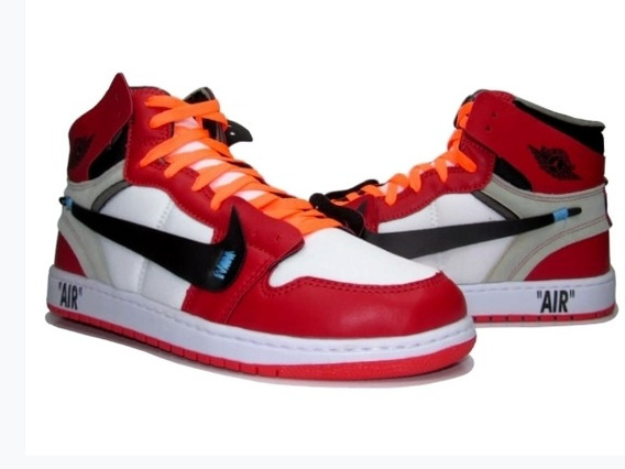 Bota Masculina Air Jordan Off White Promoção