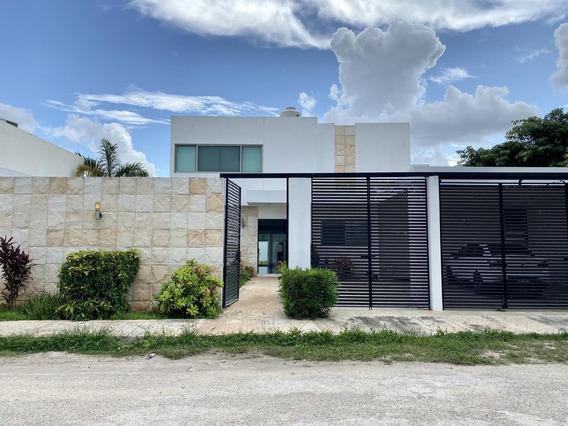 Casa En Renta En Dzitya, Amueblada Y Con Piscina