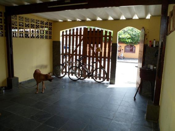 Casa Em Plataforma, Mongaguá/sp De 125m² 2 Quartos À Venda Por R$ 169.000,00 - Ca237535