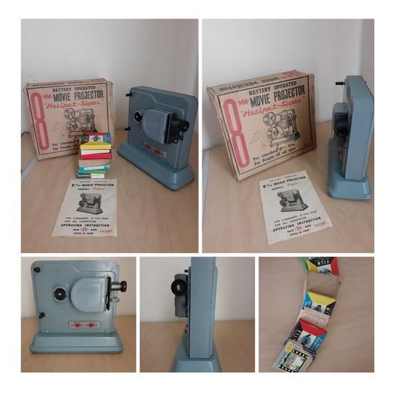 Proyector De Peliculas 8mm De Bateria Vintage Marca Horipet