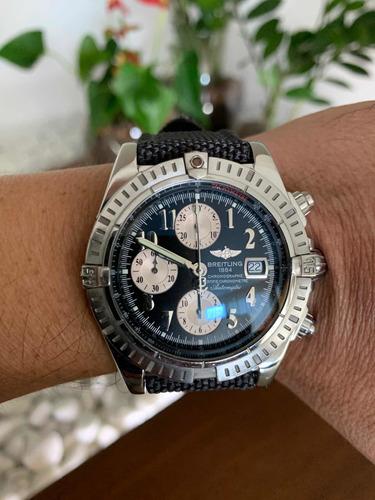 Breitling Chronomat Evolution A13356 44mm - Ano 2010