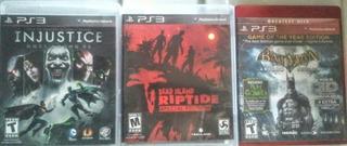 Videojuegos Ps3 Injustice. Batman