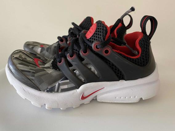 Zapatillas Nike Presto Essential Niño Usada Impecable