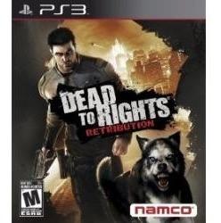 Jogo Dead To Rights Retribution Ps3 Americano Lacrado